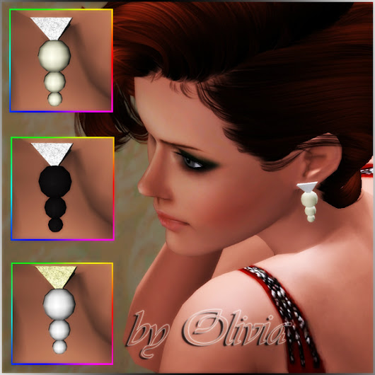 """Simple Elegance"" earings"