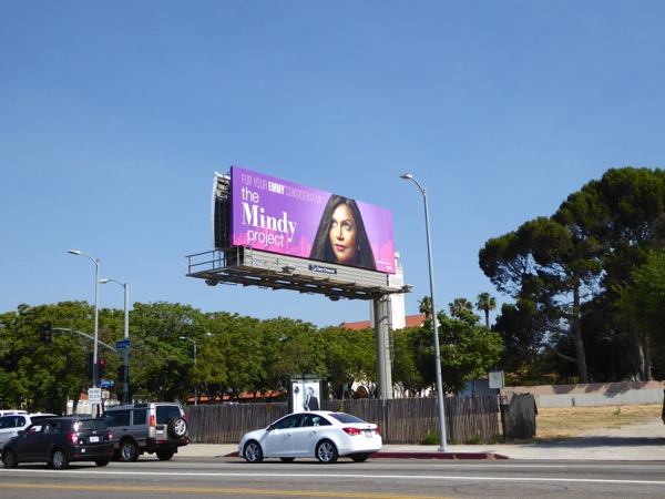 Mindy Project Emmy 2016 FYC billboard