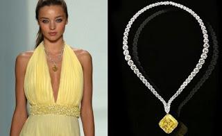 5. Leviev's Vivid Yellow Diamond Pendant - $ 10 Juta