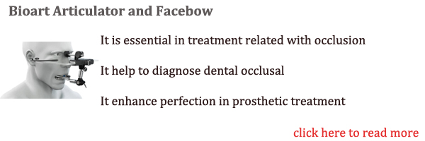 Bioart Articulator and facebow