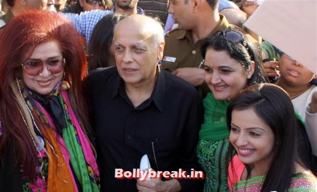 Shahnaz Husain, Mahesh Bhatt and Shrenu Parikh