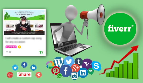 How to Promoting Your Fiverr Gigs ?