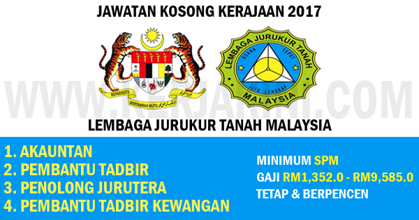 jawatan kosong lembaga jurukur tanah malaysia