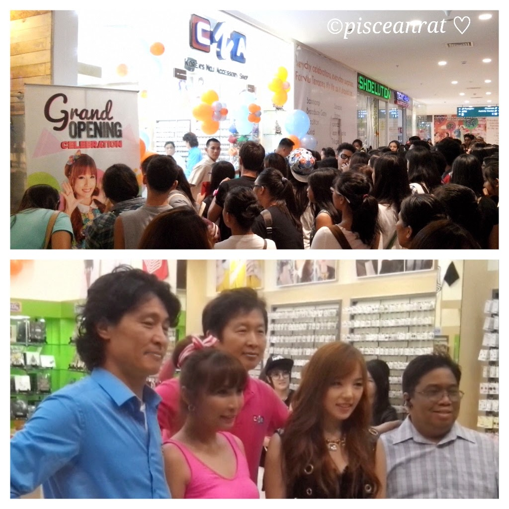 pisceanrat: CNA Korean Accessory Store opens in Ayala
