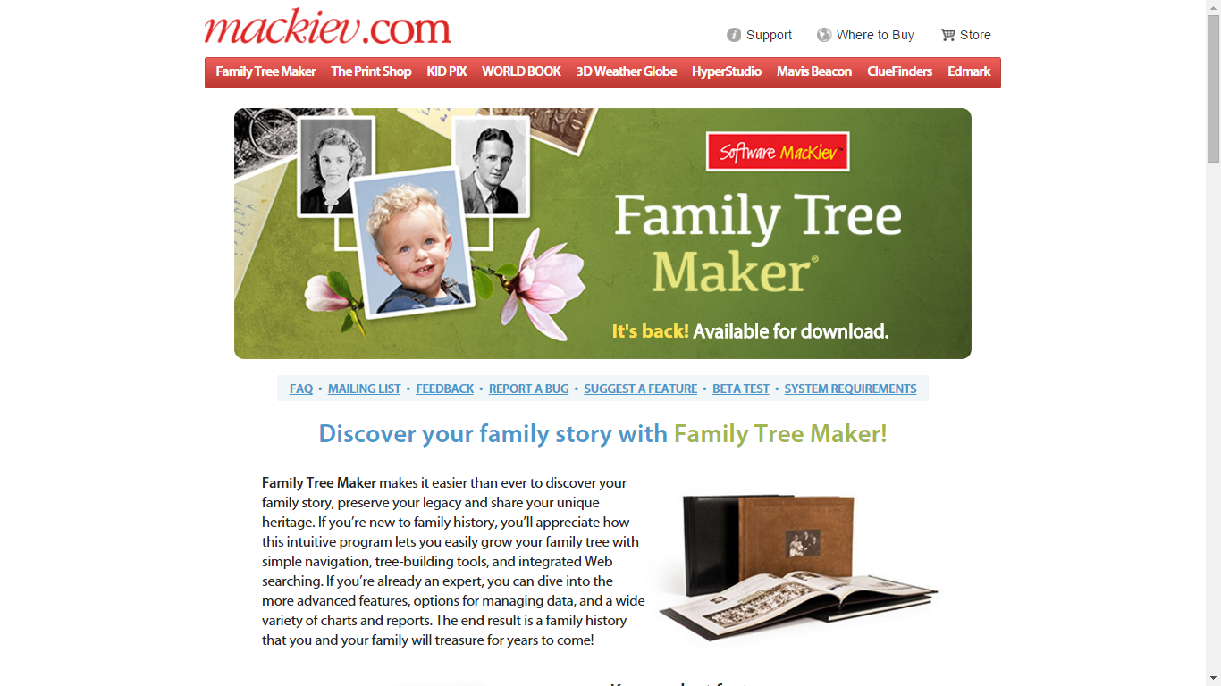 genea musings family tree maker is updated and shipping now