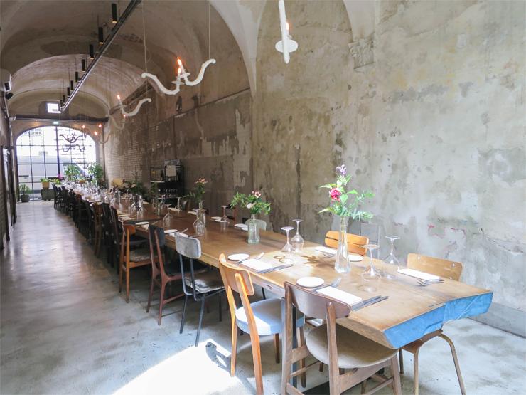 table d hotes La menagere  Florence