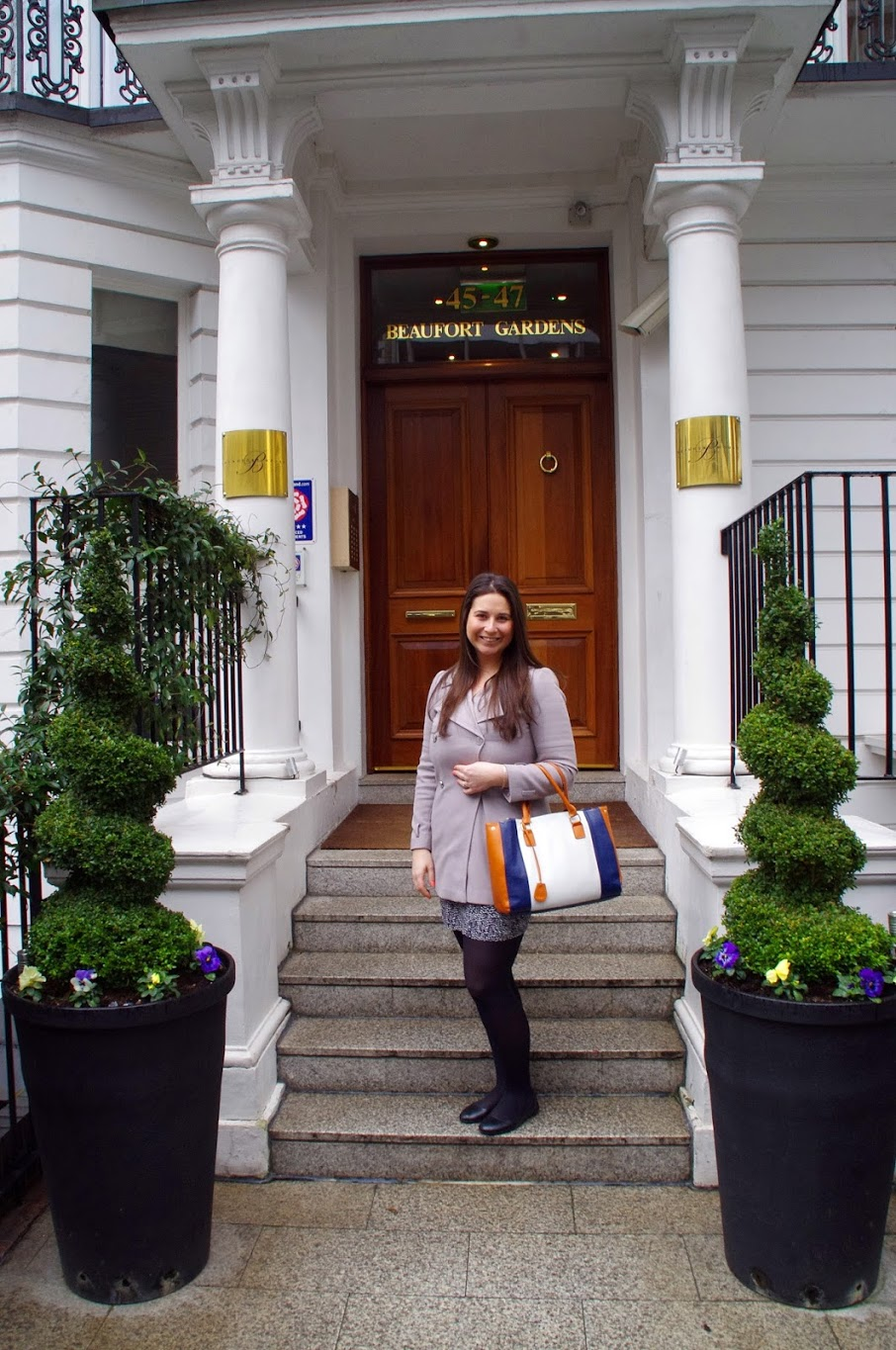 Girl at Beaufort House Luxury Apartments London
