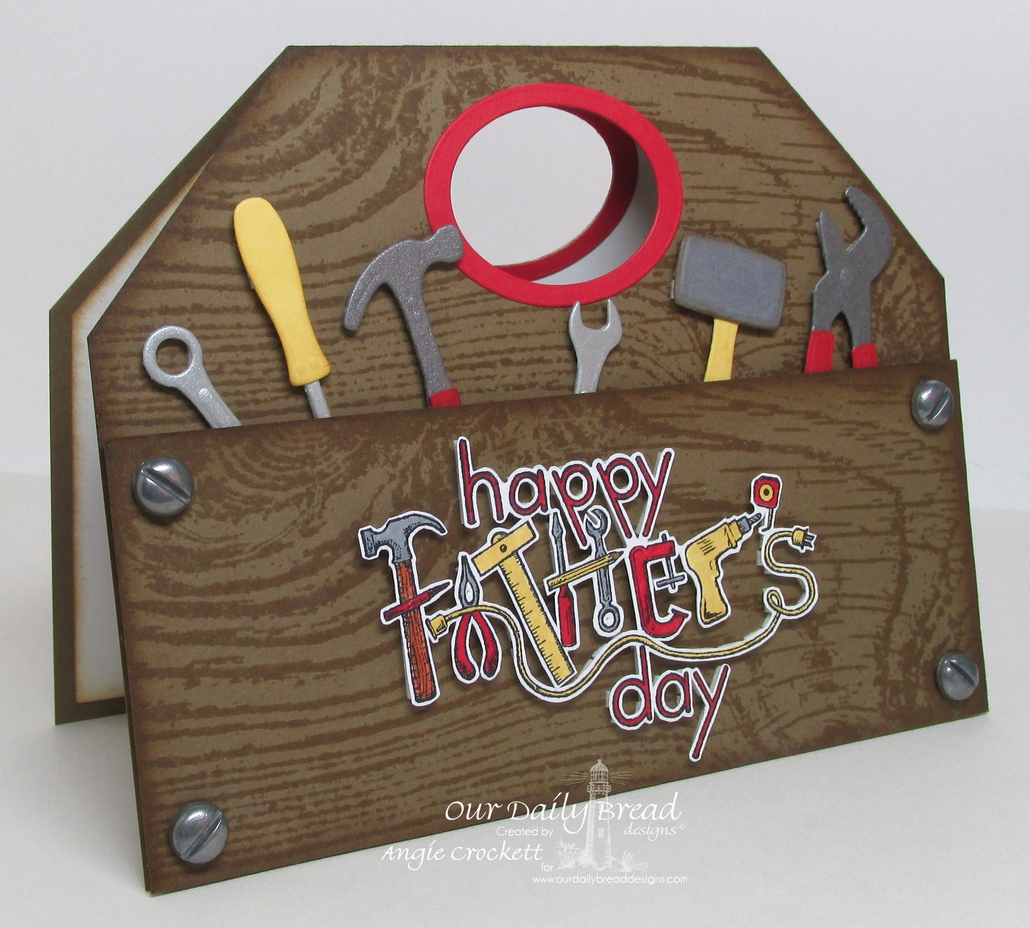 Lisa S Tool Time Father S Day Card: Body, Mind, Spirit, And STAMPS!: ODBD Anniversary Week