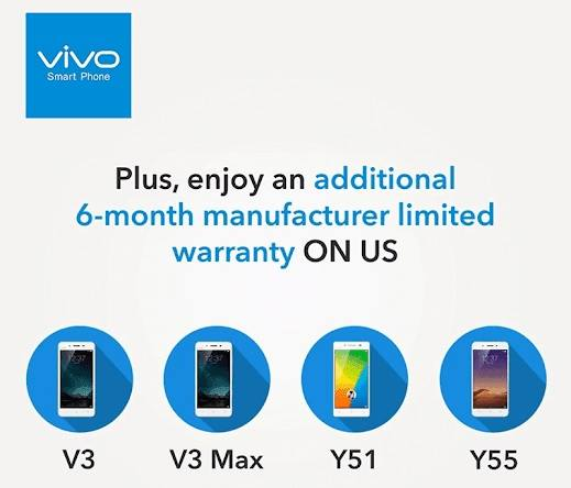 Vivo Extends Warranty Period for Select Models