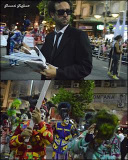 Desfile Inaugural del Carnaval. Uruguay. 2017 Murga Meteles que son Pasteles