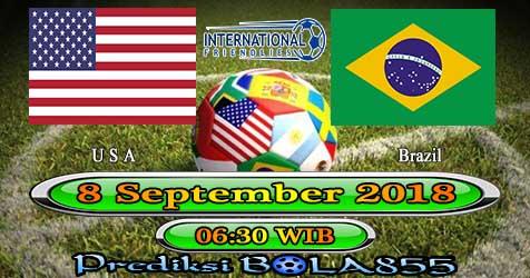 Prediksi Bola855 USA vs Brazil 8 September 2018