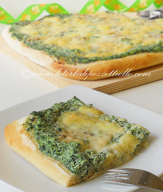 Pizza green con pasta madre