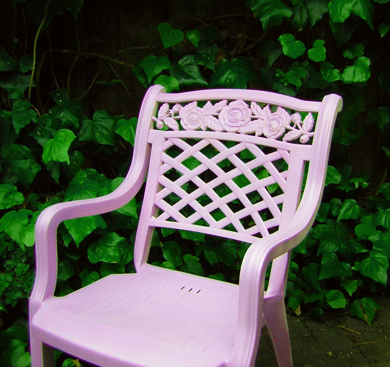 Lavender Chair Terra Garden Pretty Lavender Chair