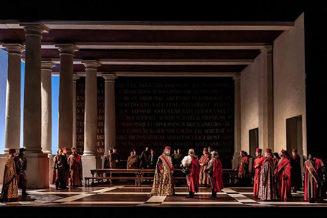 Verdi: Simon Boccanegra - Royal Opera (© 2018 ROH. Photograph by Clive Barda)