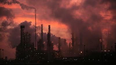 Contaminación aire desarrollo cáncer