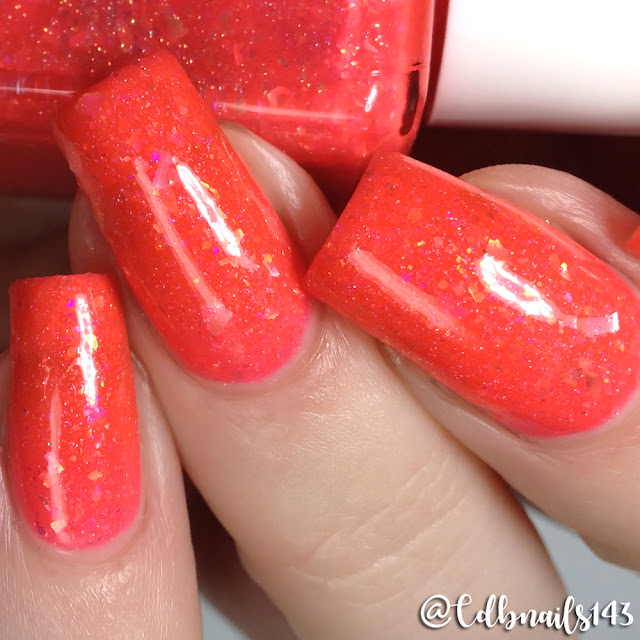 Glam Polish-Wish Upon A Clownfish