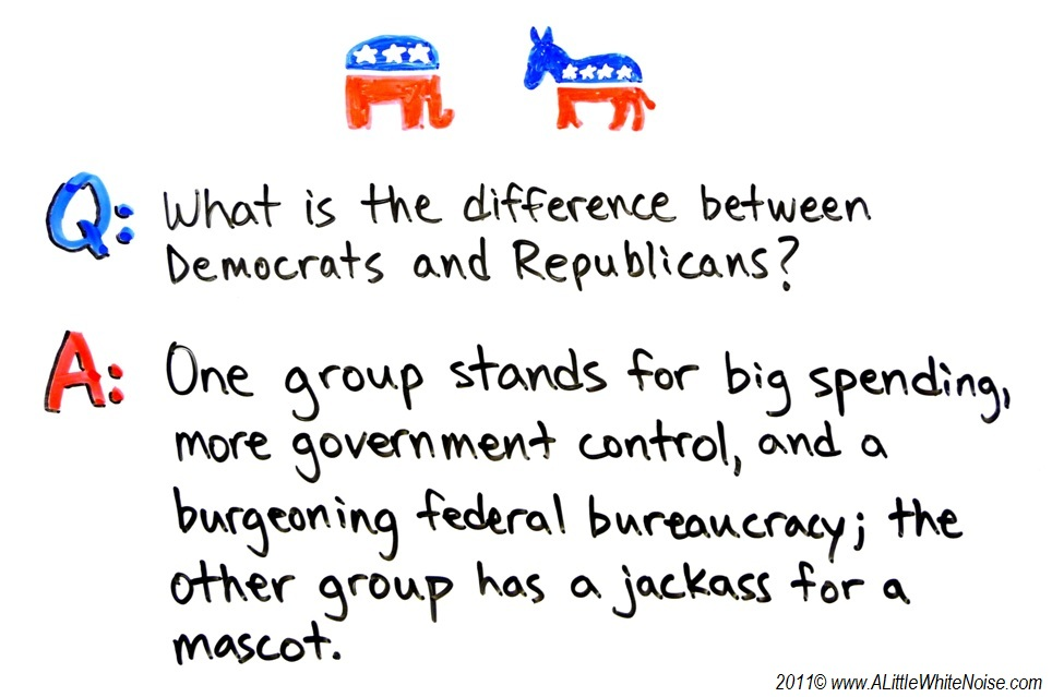 So is certainly a fabulous Republican?