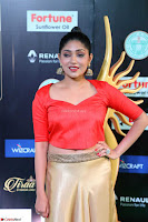 Samyukta Hamod in Red Crop top Brown Skirt at IIFA Utsavam Awards 001.JPG