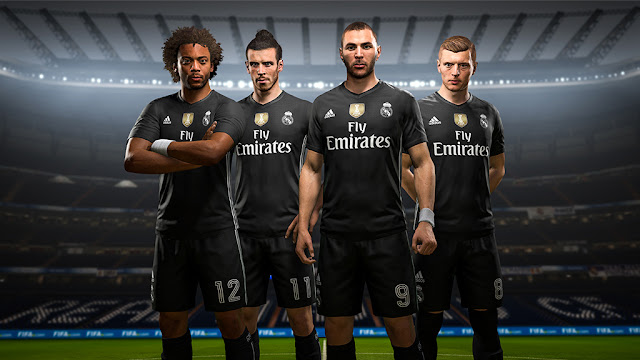 Real Madrid x adidas Digital 4th Kits