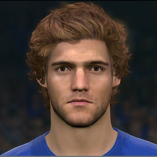 PES 2017 Faces Marcos Alonso by Sameh Momen