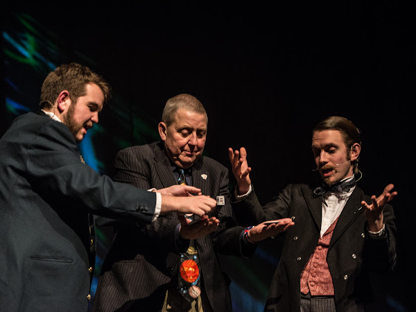 Morgan and West: Time Travelling Magicians, Wilton's Music Hall | Review