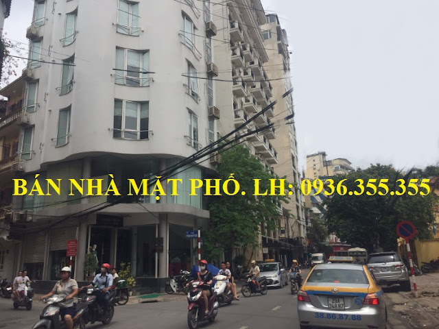 Bán nhà mặt phố Nguyễn Trường Tộ, Ba Đình