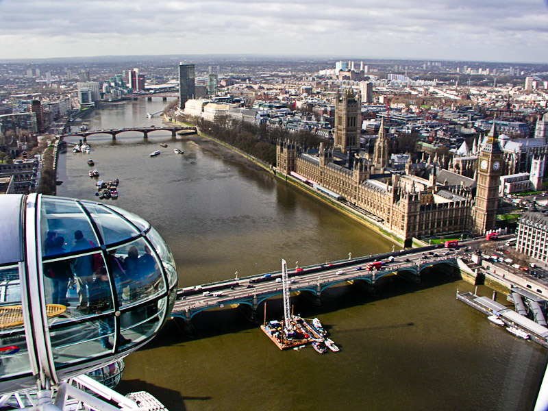 The London Eye Day And Night
