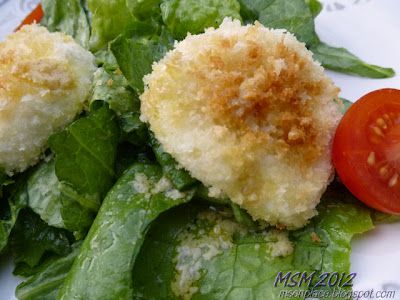 French Warm Goat Cheese Salad