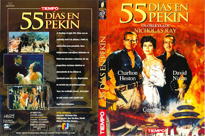 Carátula dvd: 55 días en Pekín (1963) 55 Days at Peking,