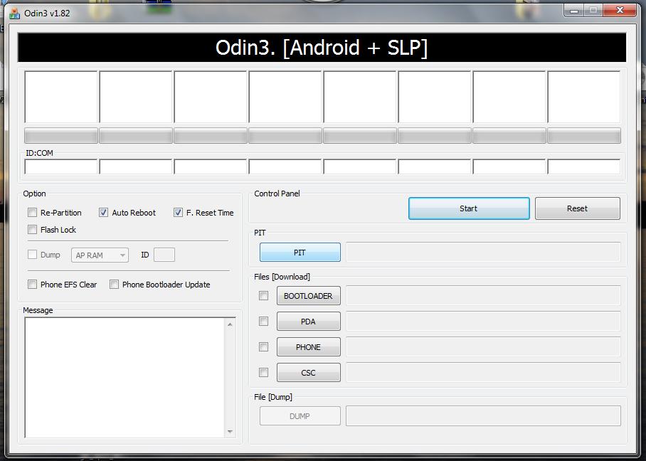 Hướng dẫn] Sử dụng Odin : Cài đặt Rom, Recovery, Kernel cho các dòng