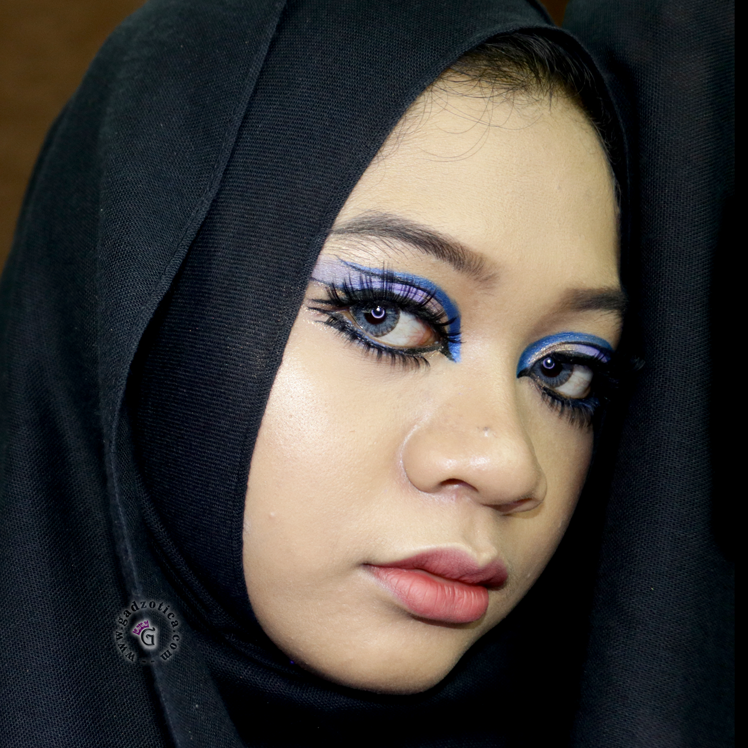 Festive Makeup Midnight Blue