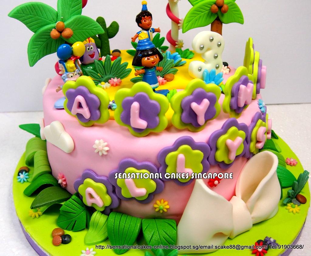 Diego Birthday Cake Singapore