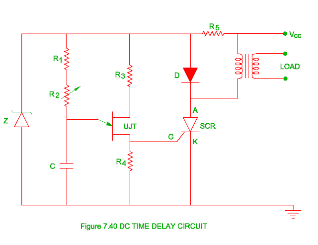 dc time delay circuit