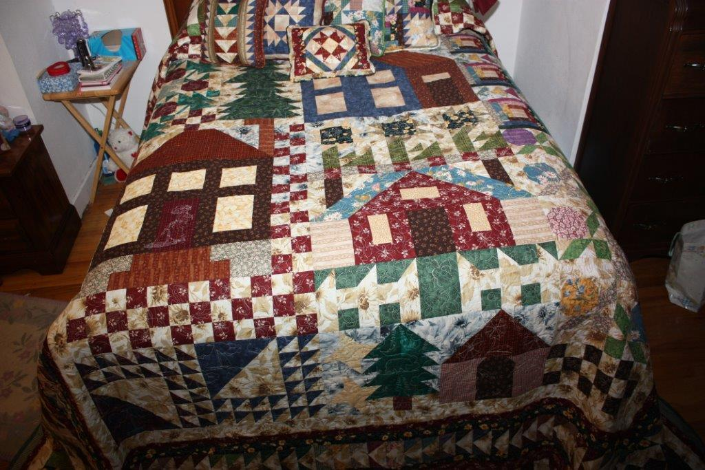 Sarah Lynn S Quilting Thimbleberries Village Quilt Done