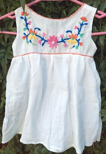 Blusa mexicana bordada
