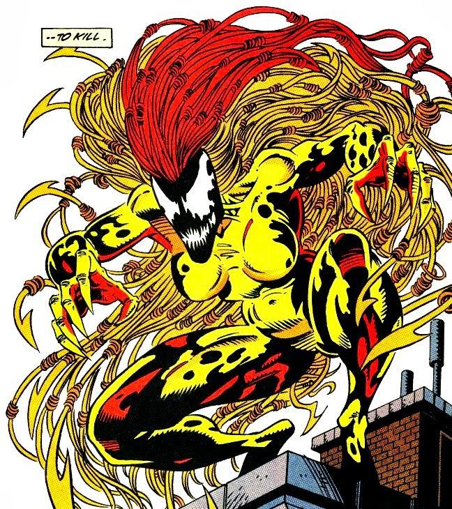 Grito es uno de los simbiontes de Marvel más espectaculares