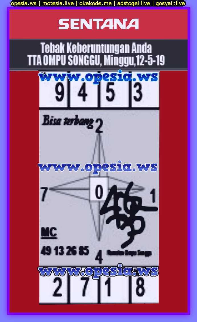 Kode syair sgp atau code syair sgp minggu 12 Mei 2019 - GOsyair