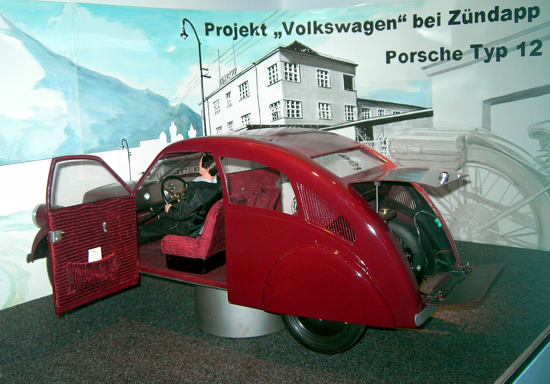 Porsche Type 12 - Reconstruction - Driver side