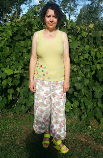 Creates Sew Slow: Outfit of the Day Megan Nielsen Flint Trousers