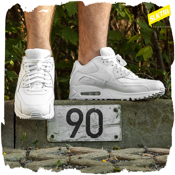 Air Max 90 White On Feet For Women airborne.nu