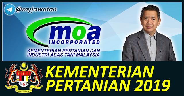 Permohonan Jawatan Kosong Kementerian Pertanian Dan Industri Asas Tani Malaysia 2019 Mingguan Kerja