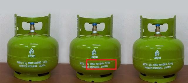 gas elpiji 3 kg