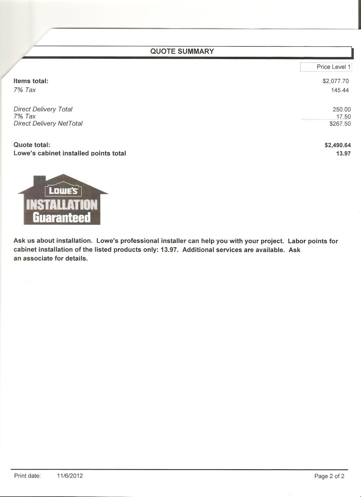 Estimate For Kitchen Cabinets Hape Cabinet Invoice And New