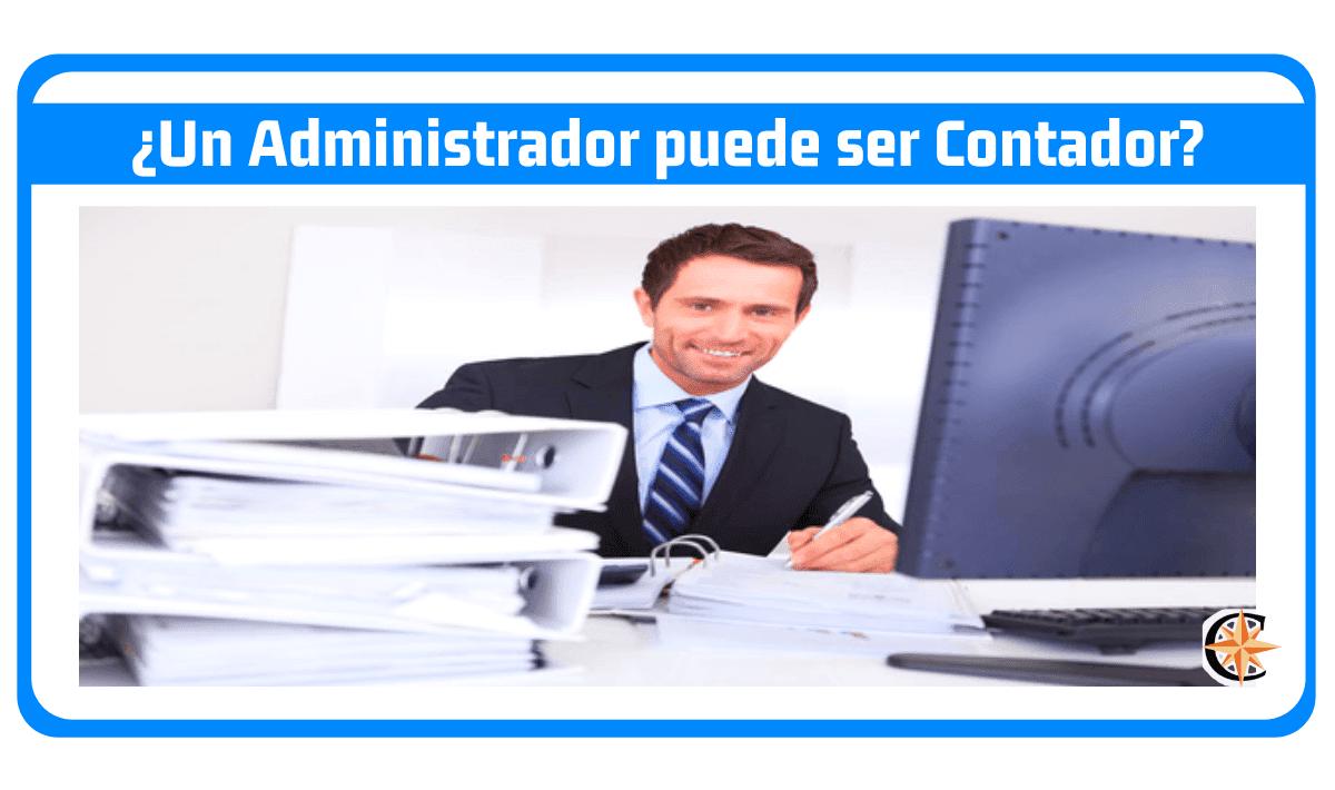 Un administrador puede ser contador