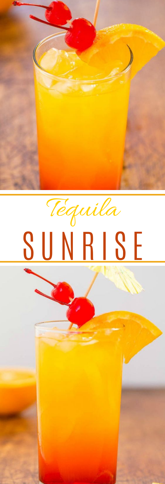 Tequila Sunrise #drink #summercocktail