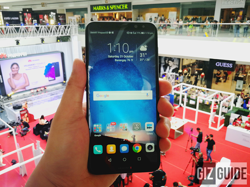 Huawei sold 1000 units of Nova 2i in the Philippines just an hour!