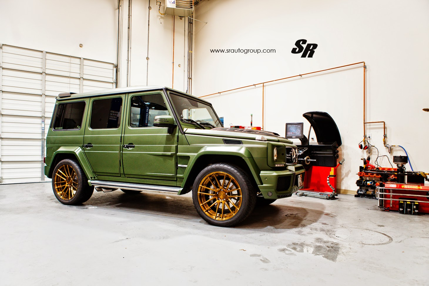 Mercedes-Benz G63 AMG Army Style on ADV.1 Wheels | BENZTUNING