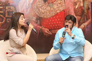 Shriya Saran Nandamuri Balakrishna at Gautamiputra Satakarni Team Press Meet Stills  0179.JPG