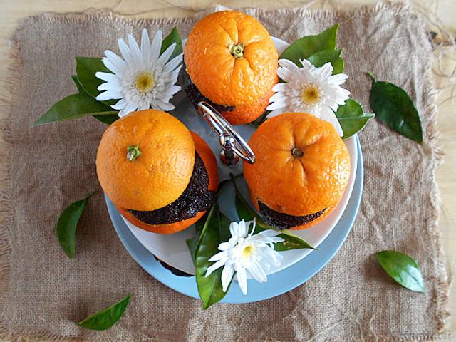 bolo laranja e chocolate