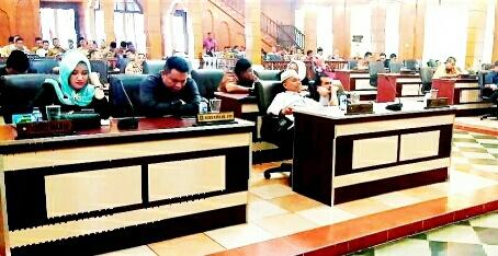 DPRD Asahan Setujui  RANPERDA P-APBD 2018